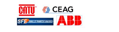 CB TRADING- Logos - CATU - CEAG - SIBILLE FAMECA ELECTRIC - ABB